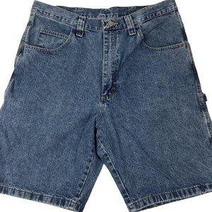 Wrangler Mens Carpenter Jean Shorts Size 34